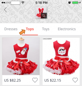 How to search product in AliExpress Mobile App using photo?